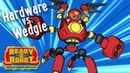 Ready2Robot Slime Robot Battles Episode 1 Hardware vs Wedgie Cartoon Webisode for Kids