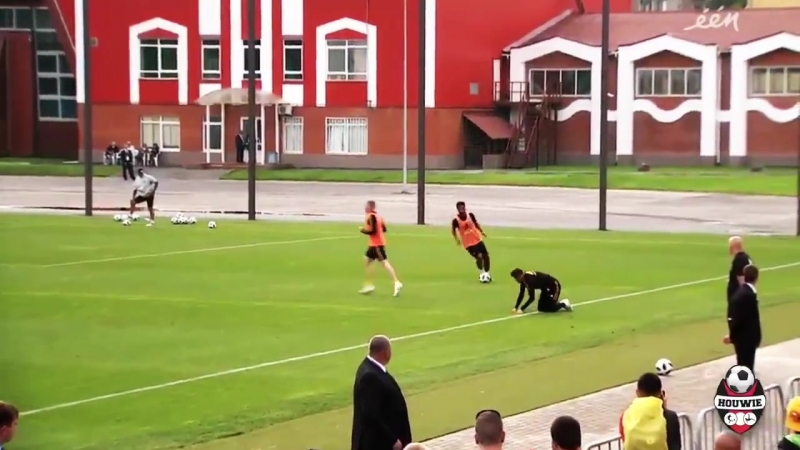 Kevin De Bruyne doesn't care that it's just training.