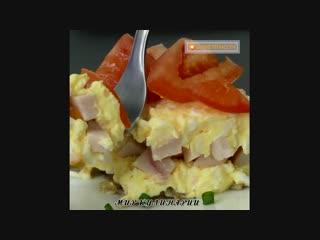 Любимый салат моего мужа! k.,bvsq cfkfn vjtuj vef!
