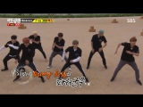BTS на шоу Бегущий человек [Озвучка SoftBox] Running Man Ep.300 (cut)