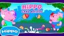 Гиппо 🌼 Битва Пирожными 🌼 Мультик игра для детей Hippo