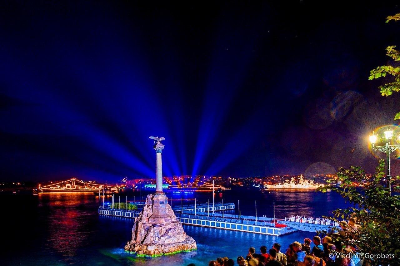 Вечерний Севастополь. Фото: Владимир Горобец