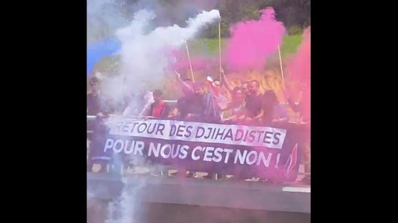 FNJ Génération Nation contre la décision de Castaner du retour en France des djihadistes partis en guerre en Irak et en Syrie