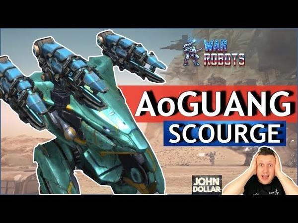 War Robots - Ao Guang на Scourge Mk2!