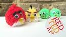 EASY Angry Birds Crafts Pom Pom Shooter Game