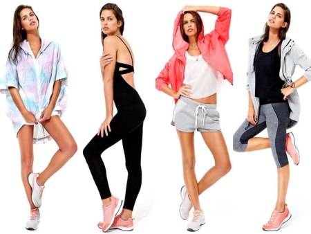 одежда для фитнеса лосины