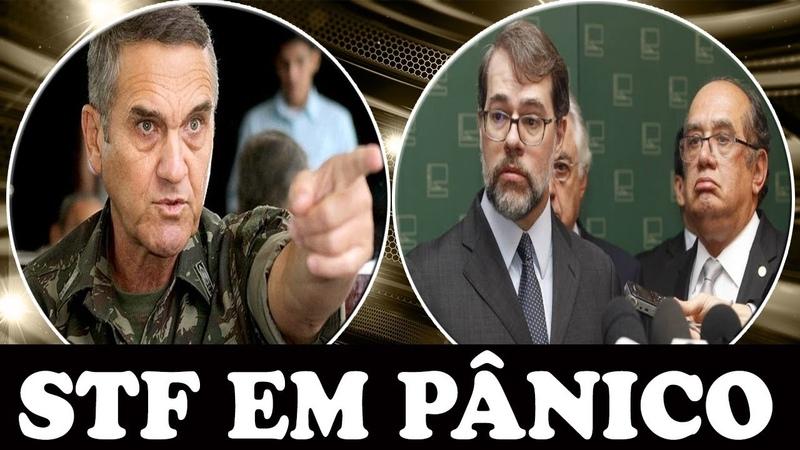🔴 GENERAL APAVORA STF: EXÉRCITO NÃO VAI DEIXAR LULA SAIR DA CADEIA