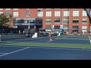 Открытая тренировка Рафы Надаля на US Open