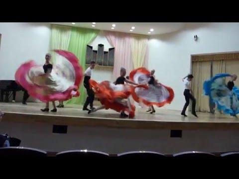 Экзамен по народному танцу ДМШ 71 часть 1