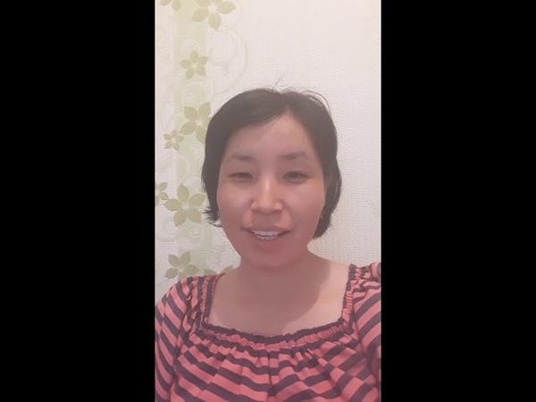 Видеоотзыв на тренинг Аделя Гадельшина от Садыбековой Майры