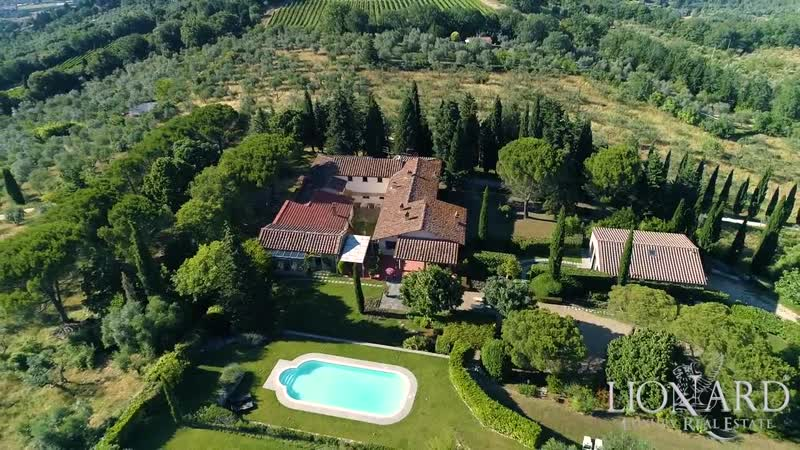 Villa with swimming pool near Florence, Tuscany, Italy
