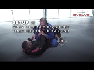 БИЕО BJJ- How To Do A Wrist Lock From Full Guard - Evolve University
