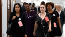 Alyssa Milano at Kavanaugh hearing 'Women are standing together now'