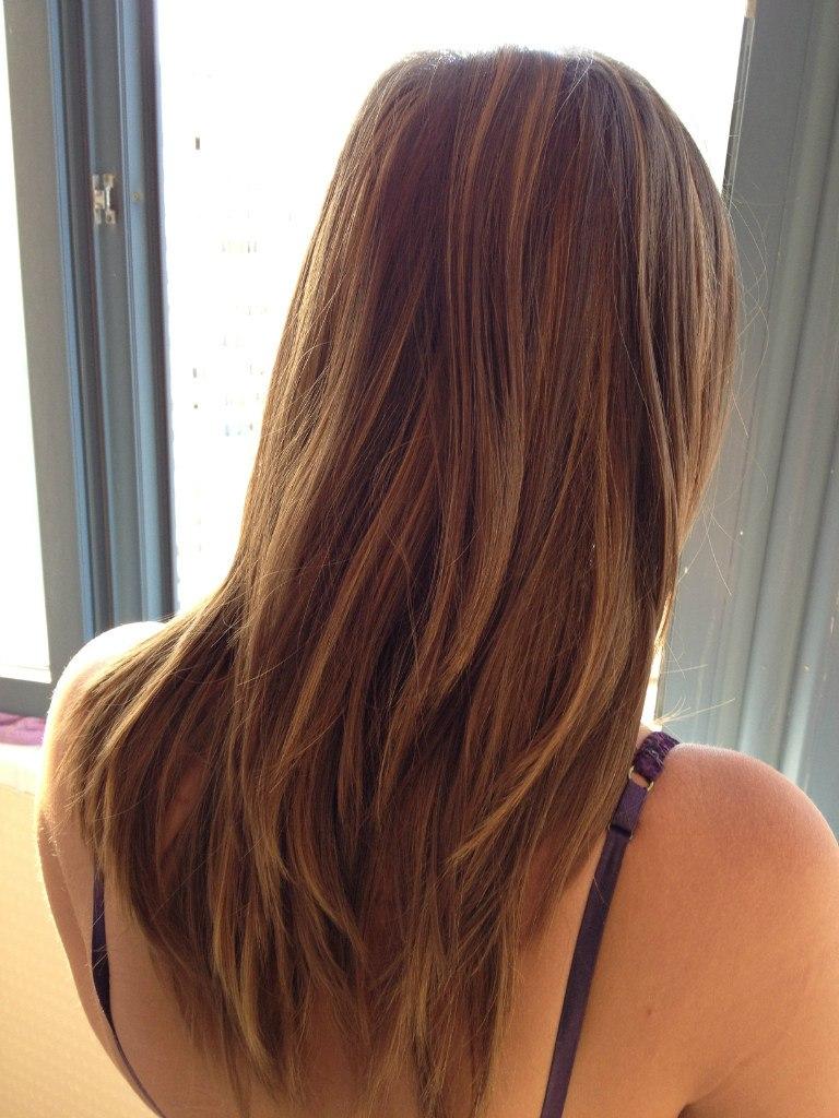 Картинки омбре на рыжие волосы - 0