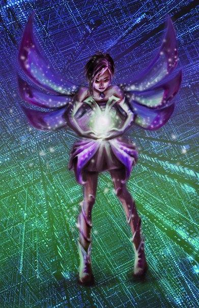 """Журнал Winx+Аниме """"Секрет синей папки"""" 5 выпуск"""