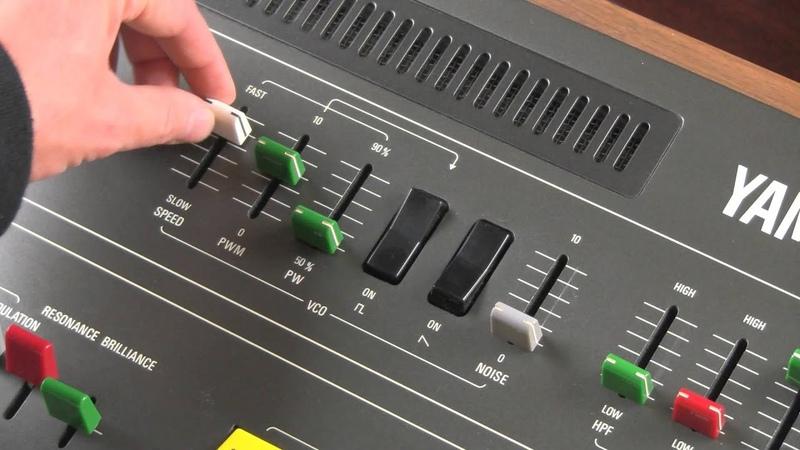 The Yamaha CS 50 Part 1 The Oscillator
