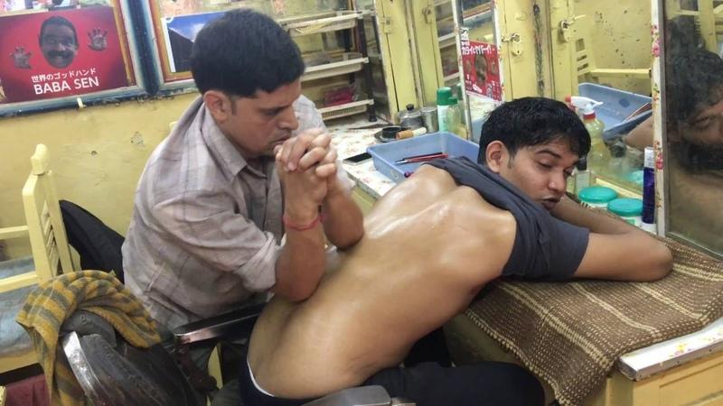 Baba Sen's Nephew Benny's Semi Cosmic Upper Body Massage Episode-2 PART-1| 4K