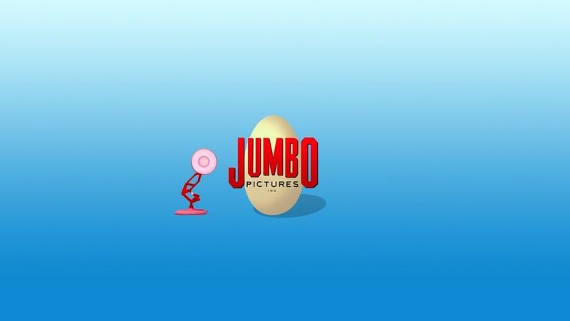 1327-Jumbo Pictures Spoof Pixar Lamps Luxo Jr Logo