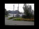 Танки сепаратистов ведут огонь в черте города 23.07.14