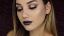 Purple Gold Halo Smokey Eye ByJeannine