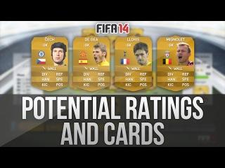 FIFA 14 Ultimate Team | Potential Cards & Ratings - Čech, De Gea, Lloris and Mignolet