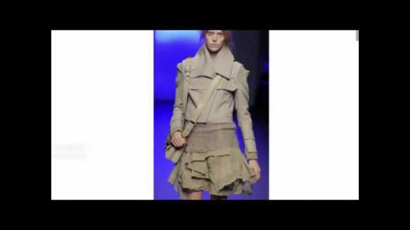 Фрагмент курса Дизайн одежды: Контрасты. Футуризм