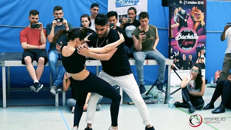 Jr O tro te besa - Bachata Style workshop Marco Sara Stuttgart bachata festival 2018