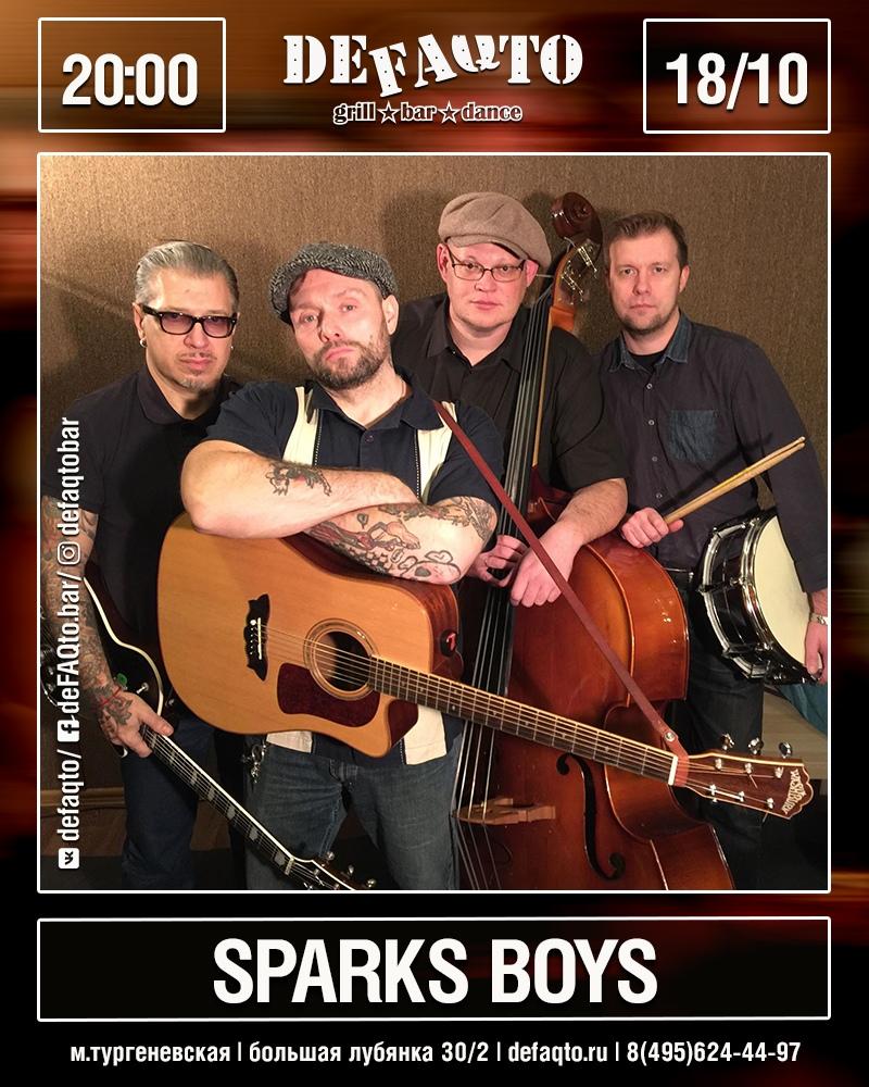 18.10 The Sparks Boys в клубе DeFaqto!