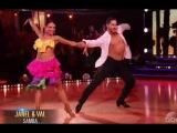 Dancing With The Stars Week 6 : Janel Parrish & Val - Samba - DWTS Season 19 Week 6