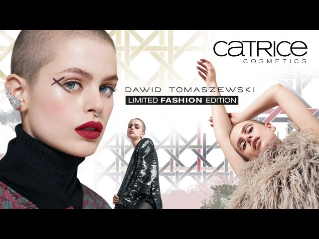 LE Dawid Tomaszewski by CATRICE - Sneak Preview