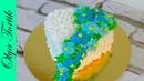 Цветы из крема Как украсить торт кремом МК Olya Tortik Домашний Кондитер