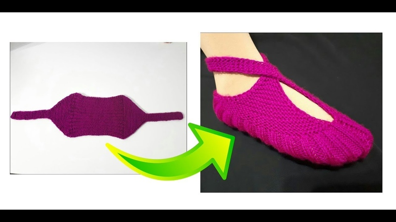 Kısa sürede biten zarf patik tekniği patik modelleri knitting