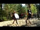 Макасимус VS Троян (копье щит и меч)