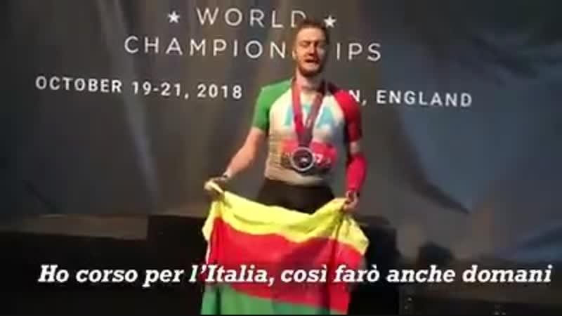 Спортсмен выразил поддержку курдам.