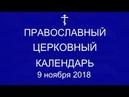 Православный † календарь 9 ноября 2018г Прп Не́стора Летописца Печерского в Ближних пещерах