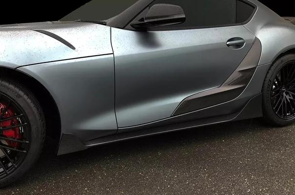 Toyota подготовила первый заводской тюнинг для новой Supra. Компания Toyota представила особую версию возрожденного спорткара Supra, получившую название Line Concept TRD. Новинка была