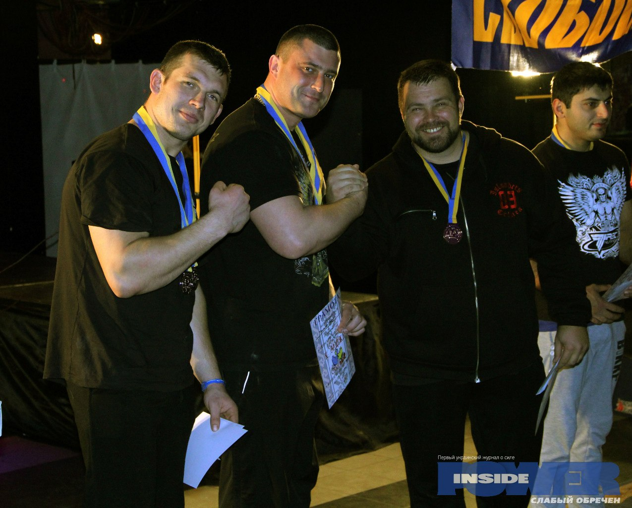 Sergiy Tokarev (2) - Andrey Pushkar (1) - Andrey Sharkoff (3)