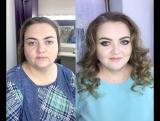 Ксения Саватеева. Преображение для Елены вечерний макияж и локоны