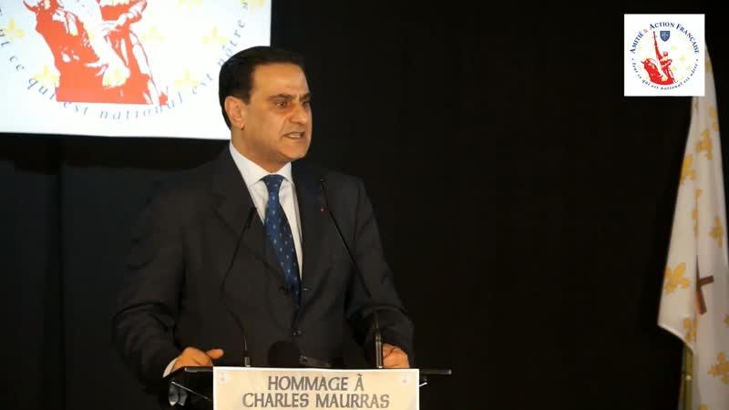 Hommage des 150 ans de la naissance de Charles Maurras - Elie Hatem