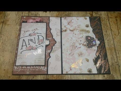 Tutorial 2/7 Amelia Cherry Big Size mini album