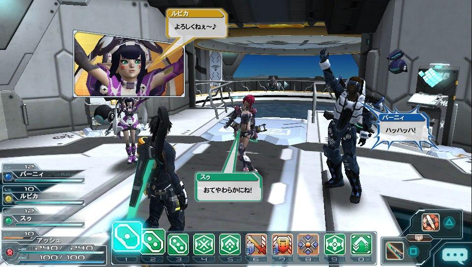 Phantasy Star Online 2 для PS Vita: началось принятие заявок на закрытое бета-тестирование