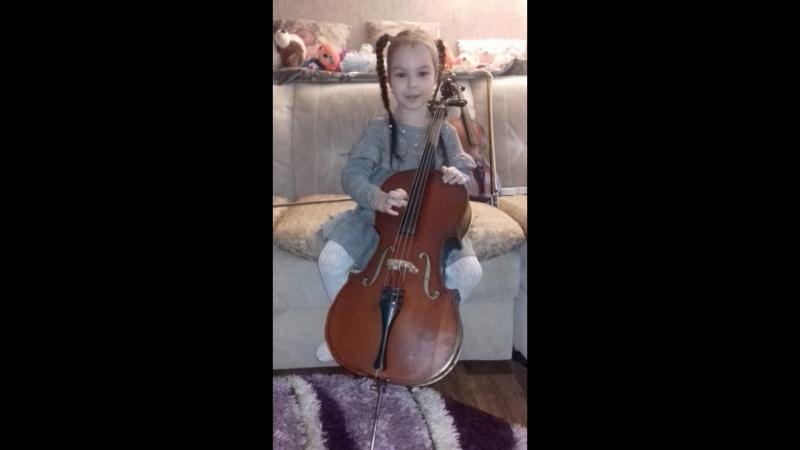 наша виолончелистка Амелия
