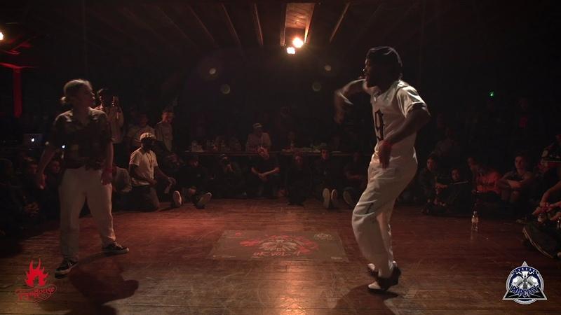 Popcity UK Vol.4 Popping Semi Final: Nuria vs Ness | Danceproject.info