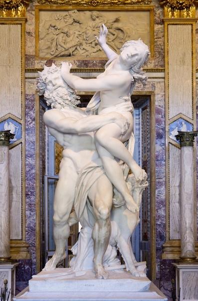 История одного шедевра. «Похищение Прозерпины», Джованни Лоренцо Бернини 16211622г. мрамор. Размер: 295 см. Галерея Боргезе, РимГлядя на эту скульптуру, невольно задумываешься, как из такого