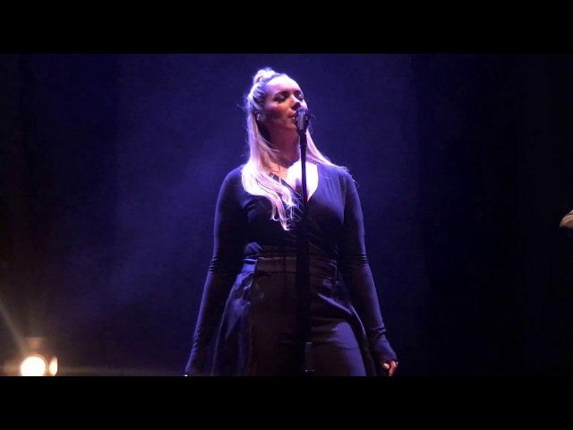 Footprints in the Sand A Moment Like This Leona Lewis I Am Tour Live in Sheffield 2016 Feb 22