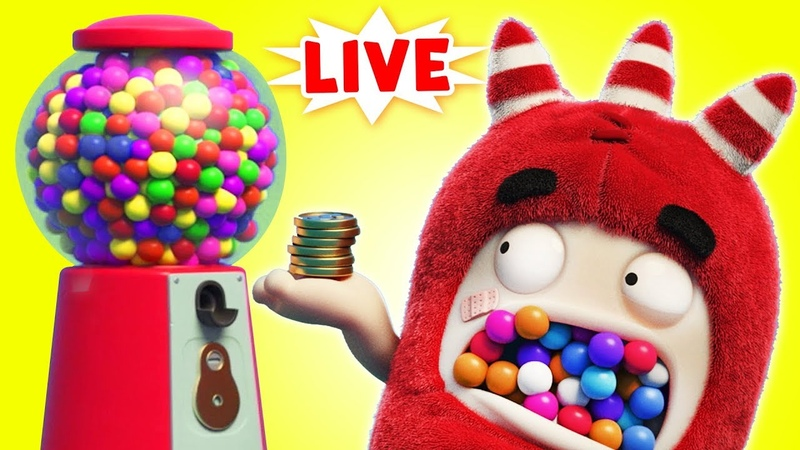 Oddbods YUMMY GUMBALL OVERLOAD Oddbods Full Episode Compilation Funny Cartoons LIVE 🔴