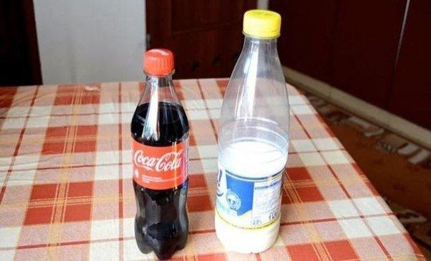 Что будет, если добавить молоко в Кока-Колу…. (6 фото) - картинка
