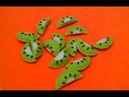Membuat Hiasan Toples Flanel buah kiwi Erika Flannel Craft