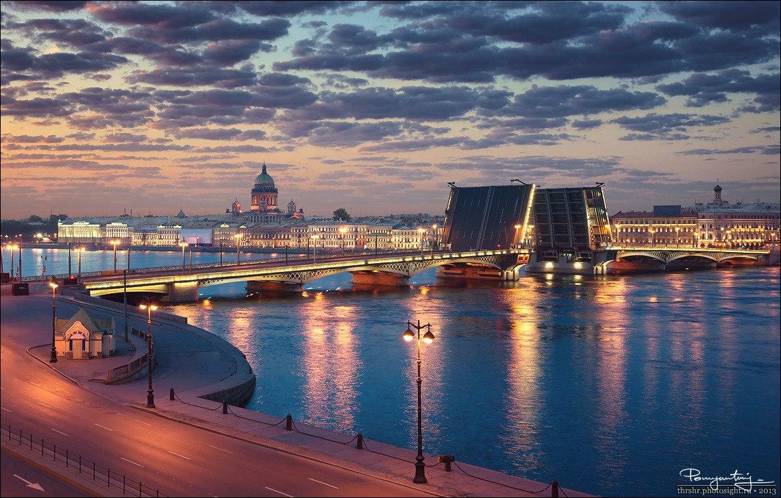 Вечерние экскурсии по санкт петербургу