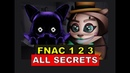 FNAC 1 2 3 | ALL EASTER EGGS SECRETS